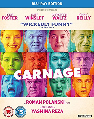 Carnage [Blu-ray] from Studiocanal