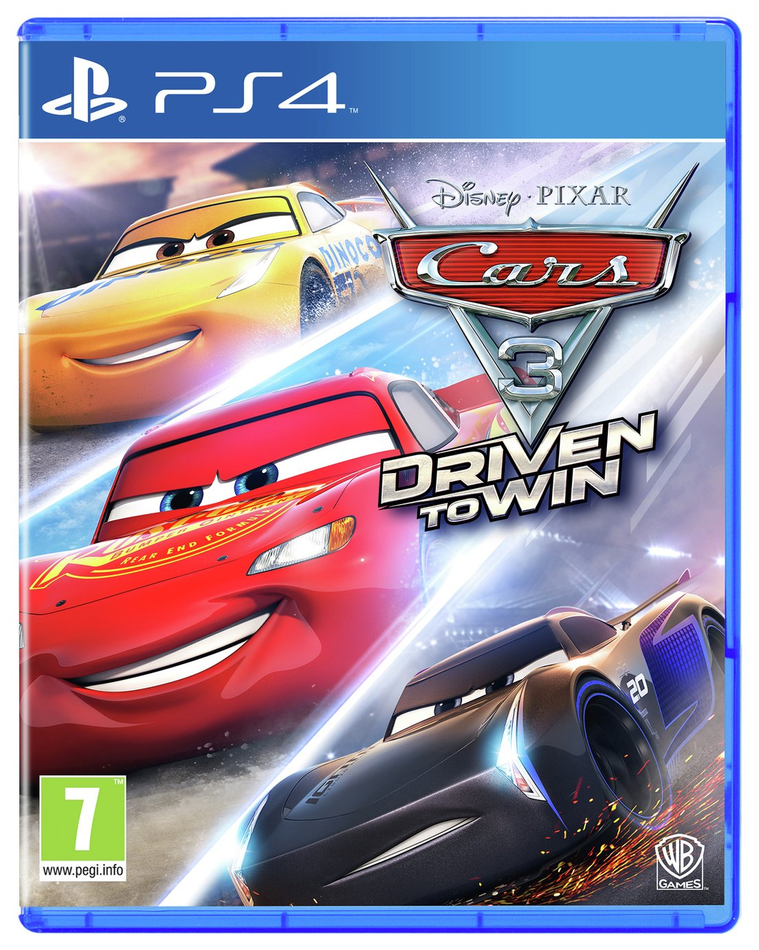 Cars 3: Driven to Win PS4 Game from Cars 3