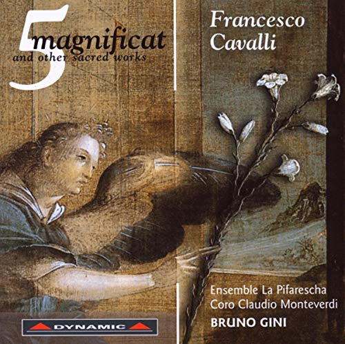Cavalli: 5 Magnificat and Other Sacred Works from DYNAMIC