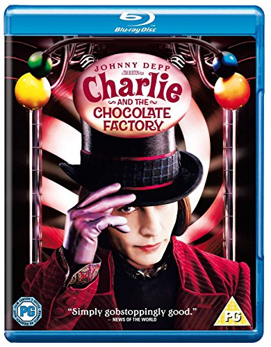 Charlie And The Chocolate Factory [Blu-ray] [2005] [Region Free] from Warner Home Video