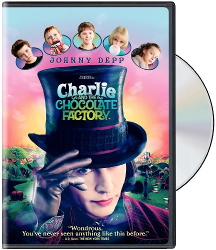 Charlie & The Chocolate Factory [DVD] [2005] [Region 1] [US Import] [NTSC] from MOVIE