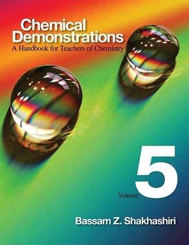 Chemical Demonstrations, Volume 5: A Handbook for Teachers of Chemistry from University of Wisconsin Press