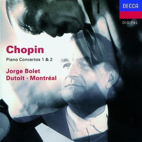 Chopin - Piano Concertos 1 & 2 from Decca