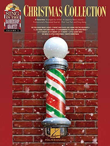 Christmas Collection - Sing In The Barbershop Quartet Volume 5 from Hal Leonard