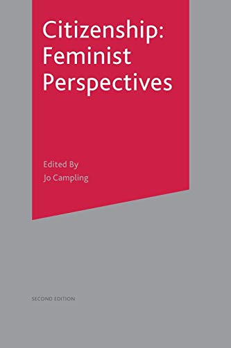 Citizenship: Feminist Perspectives from Palgrave