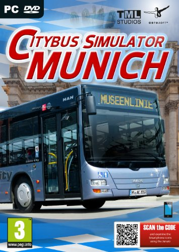 City Bus Simulator Munich (PC DVD) from Excalibur Games