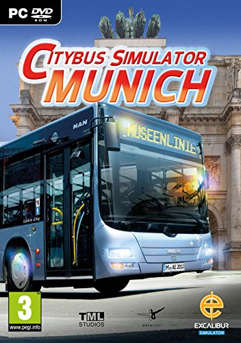 Citybus Simulator Munich (PC CD) from Excalibur Games