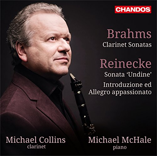 Clarinet Sonatas [Michael Collins; Michael McHale] [CHANDOS: CHAN 10844] from CHANDOS