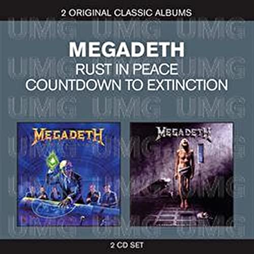 Classic Albums: Countdown to Extinction/Rust in Peace from EMI MKTG