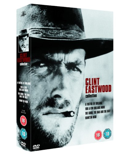 Clint Eastwood Collection [A Fistfull of Dollars, For a Few Dollars More, The Good, The Bad and The Ugly, Hang'em High] [DVD] [2020] [2007] from Warner Home Video