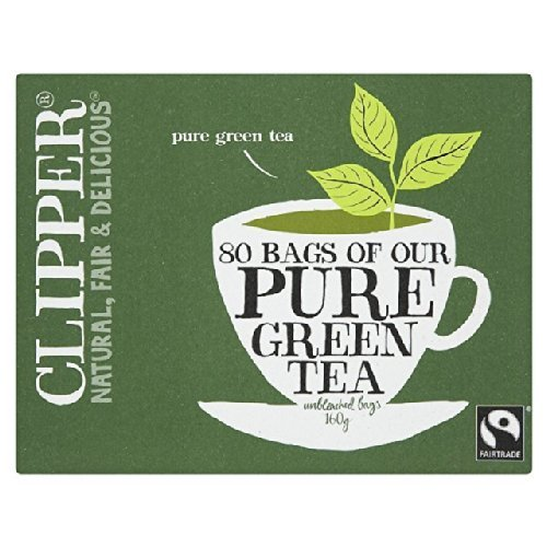 Clipper | Organic Pure Green 80 Bags | 2 X 80 Bags from Clipper
