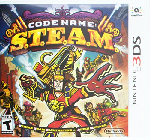 Code Name: S.T.E.A.M. (Nintendo 3DS/2DS) from Nintendo