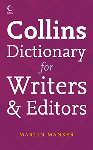 Collins Dictionary for Writers and Editors from Collins