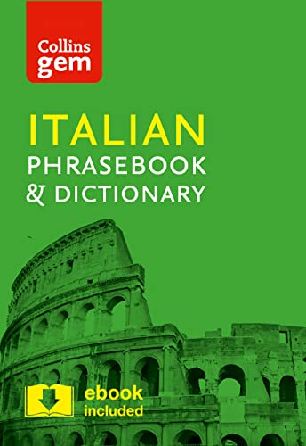 Collins Italian Phrasebook and Dictionary Gem Edition: Essential phrases and words in a mini, travel-sized format (Collins Gem) from Collins