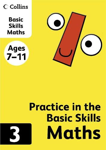 Maths Book 3 (Collins Practice in the Basic Skills) from Collins