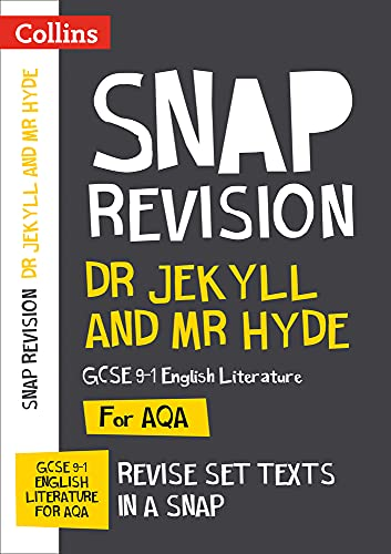 Dr Jekyll and Mr Hyde: AQA GCSE 9-1 English Literature Text Guide (Collins Snap Revision) from Collins