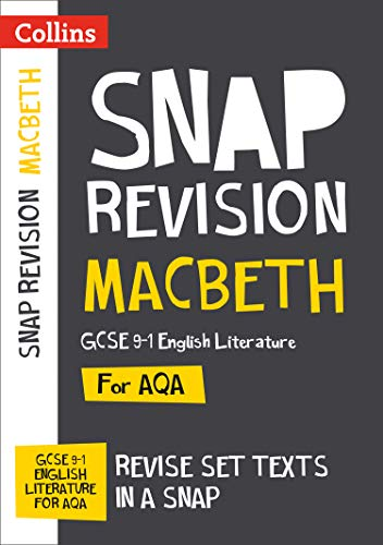 Macbeth: AQA GCSE English Literature Text Guide (Collins Snap Revision) from Collins