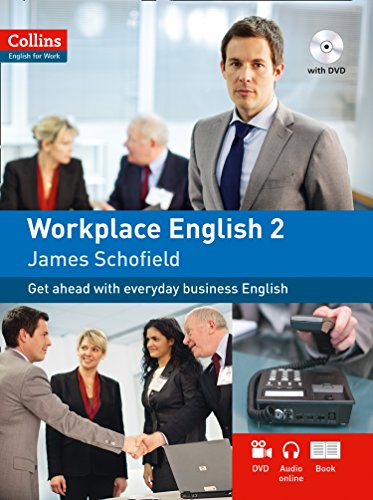 Collins Workplace English 2 (includes audio CD and DVD) (Collins English for Work) from Collins