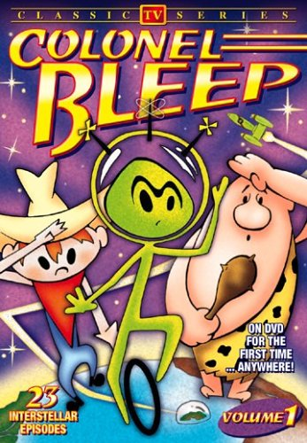 Colonel Bleep (Animated Classic TV Series) (DVD) (1957) (All Regions) (NTSC) (US Import) from Alpha Video