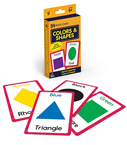 Colors and Shapes (Brighter Child Flash Cards) from Brighter Child