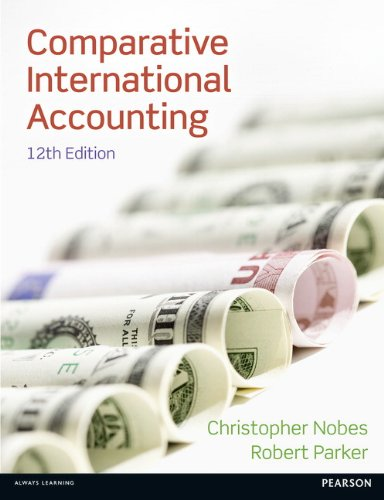 Comparative International Accounting from Pearson