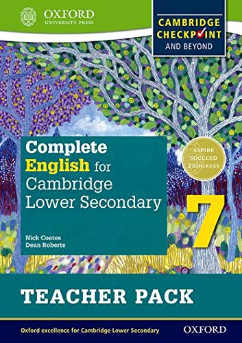 Complete English for Cambridge Lower Secondary Teacher Pack 7: For Cambridge Checkpoint and beyond from Oxford University Press