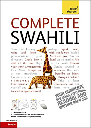 Complete Swahili Beginner to Intermediate Course: (Book and audio support) (Teach Yourself) from Teach Yourself