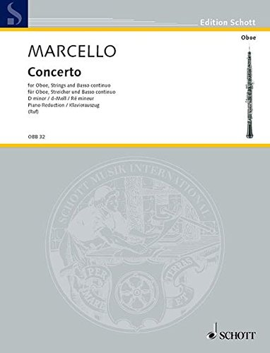 Concerto in D Minor: Oboe with Piano Accompaniment from Schott
