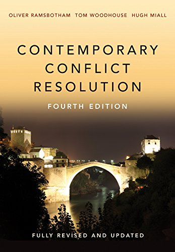Contemporary Conflict Resolution from Polity Press