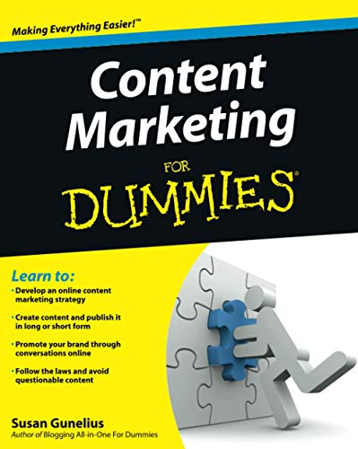 Content Marketing For Dummies from For Dummies