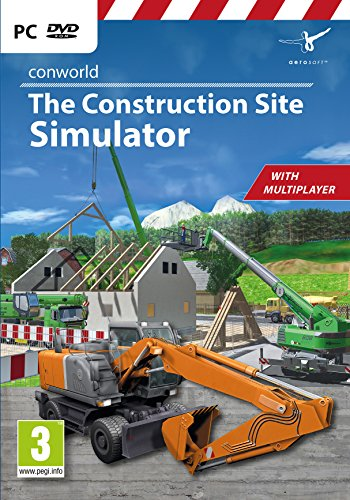 Conworld: The Construction Site Simulator (PC DVD) from Aerosoft