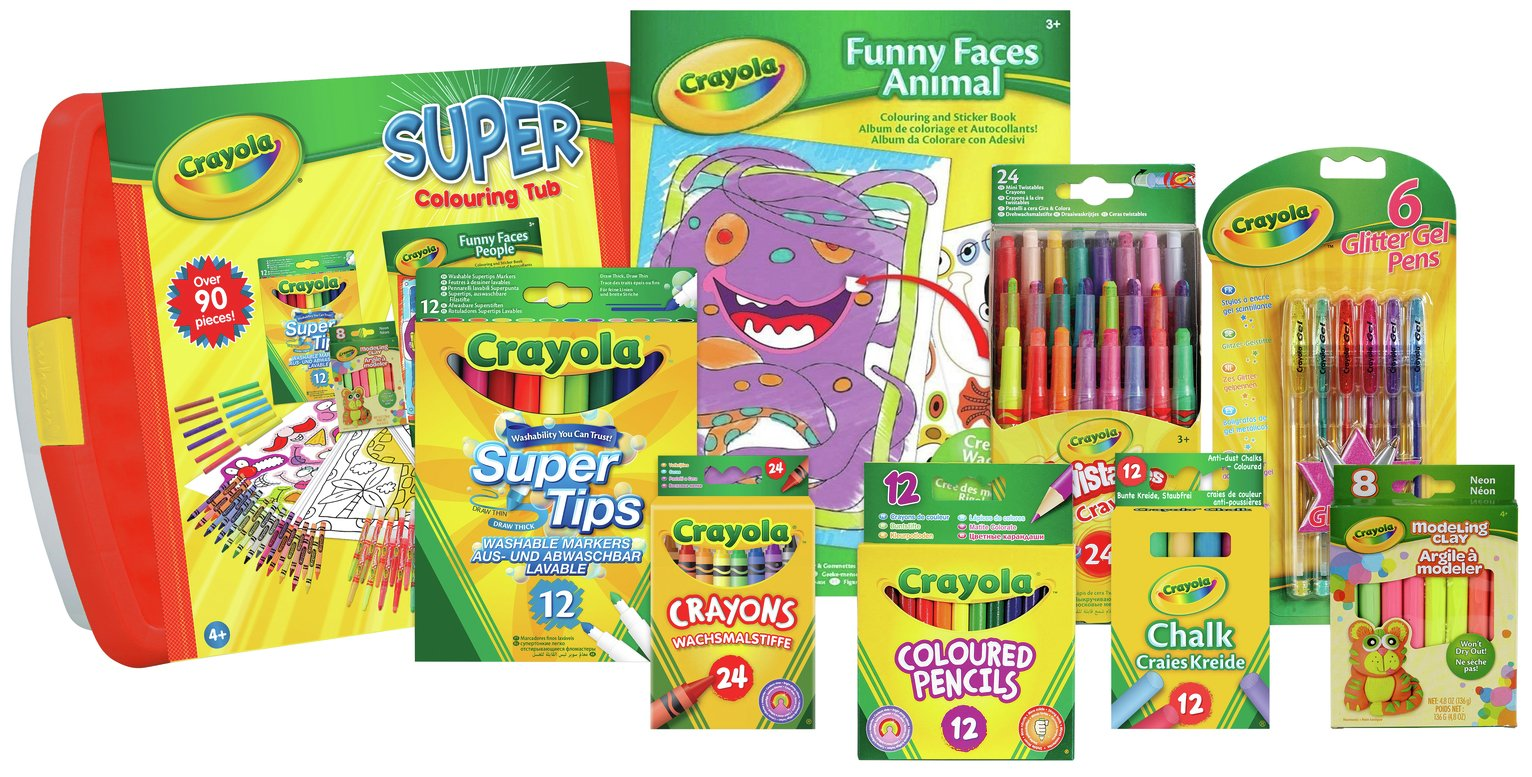 Crayola Super Colouring Tub from crayola