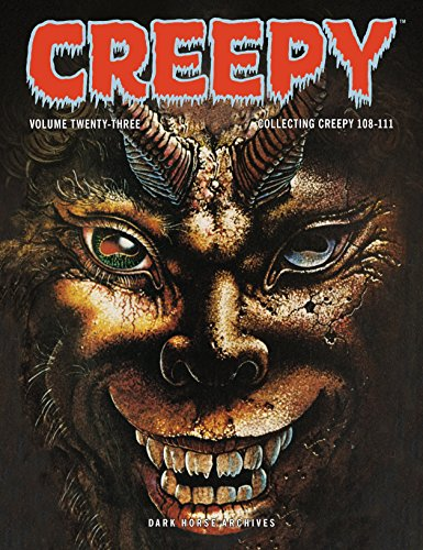 Creepy Archives Volume 23 from Dark Horse Comics