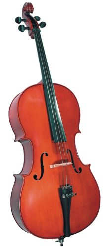 Cremona SC-100 Premier Novice Cello Outfit - 1/4 Size from Cremona