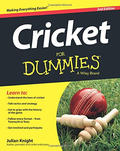 Cricket For Dummies from John Wiley & Sons