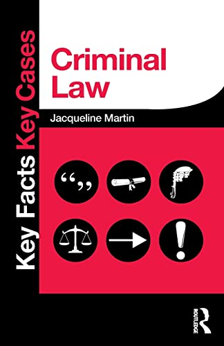 Criminal Law (Key Facts Key Cases) from Routledge