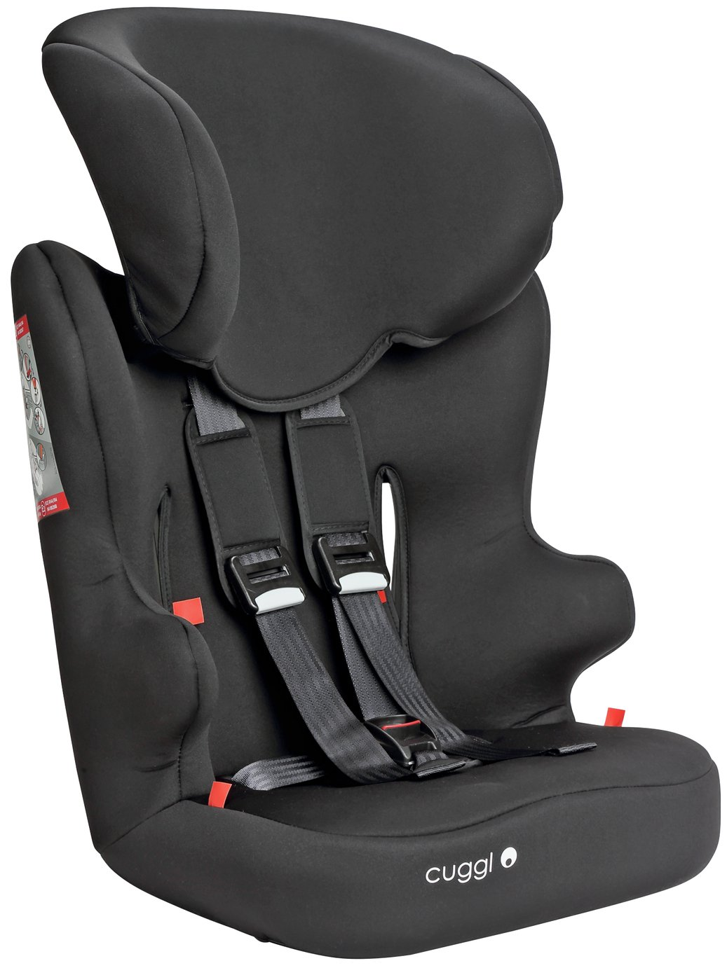 Cuggl Chaffinch Group 1/2/3 Car Seat - Black from Cuggl