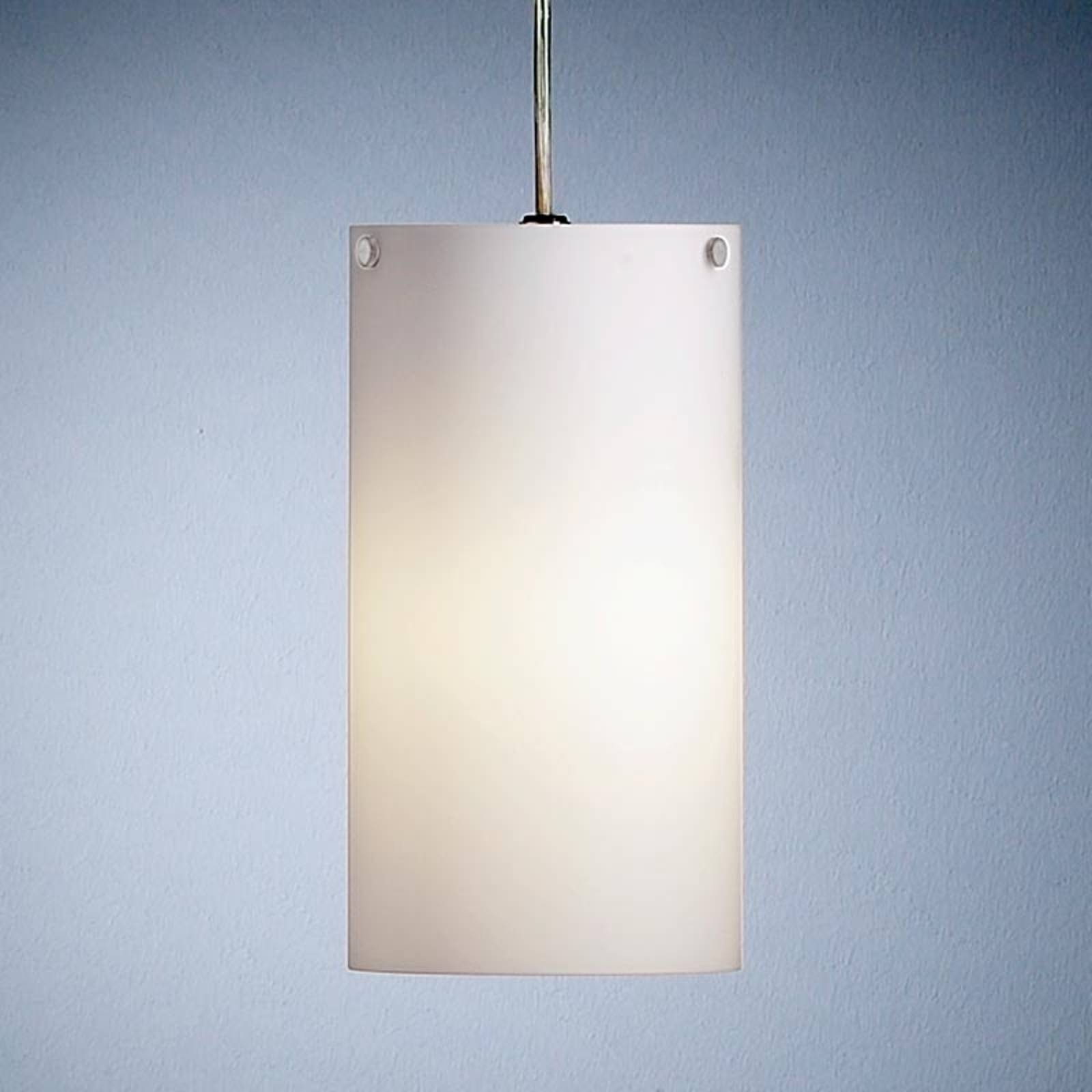 Cylindrical hanging light by Walter Schnepel from TECNOLUMEN