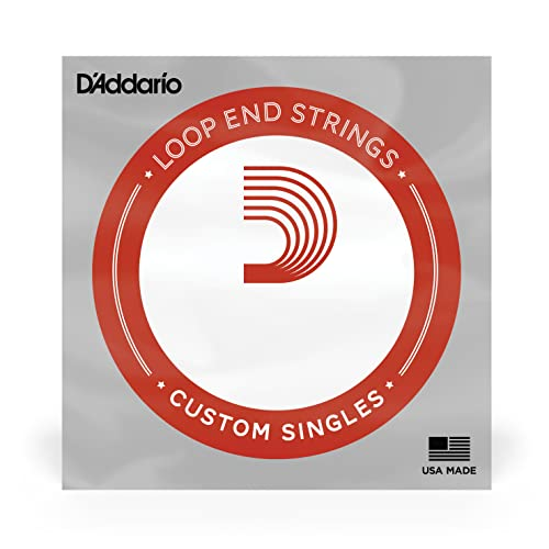 D'Addario .013 Plain Steel Loop End Single String from D'Addario