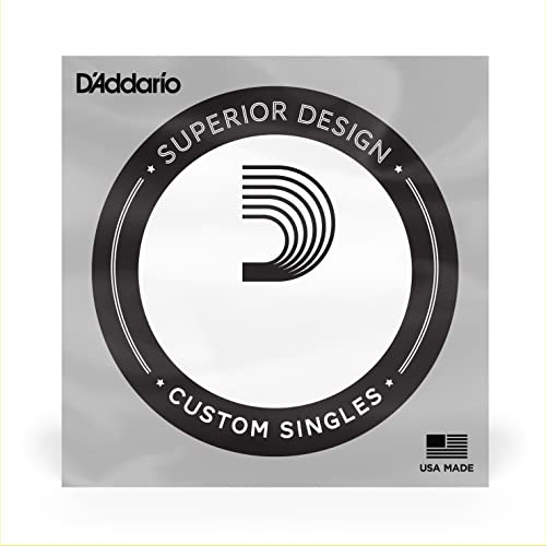 D'Addario CB032 .132 Chromes Single String for Bass Guitar from D'Addario