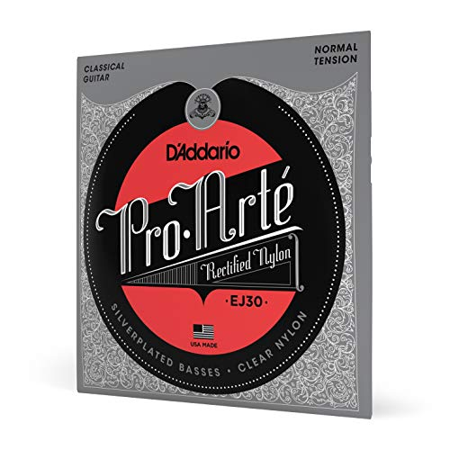 D'Addario EJ30 Classics Normal  (.028-.043) Classical Guitar Strings from D'Addario