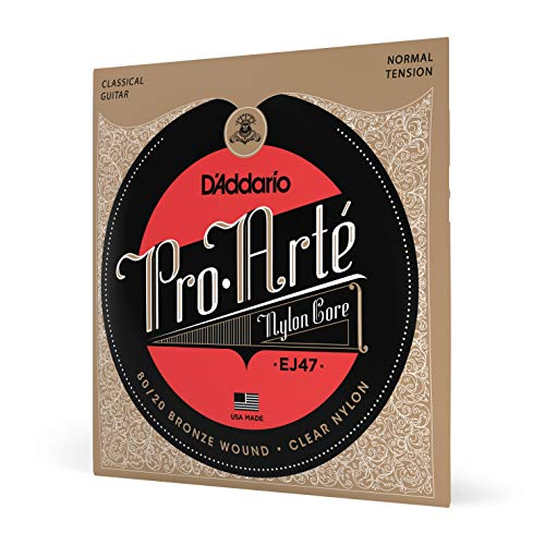 D'Addario EJ47 Pro-Arte Normal  (.028-.043) Classical Guitar Strings from D'Addario