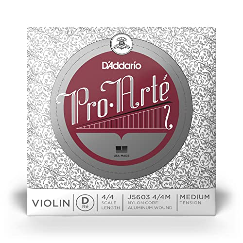 D'Addario J5603-4/4M Violin Strings from D'Addario