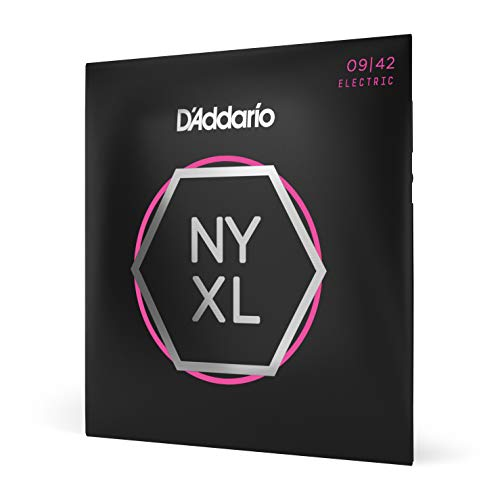 D'Addario NYXL0942 Super Light 09-42 Electric Guitar Strings from D'Addario