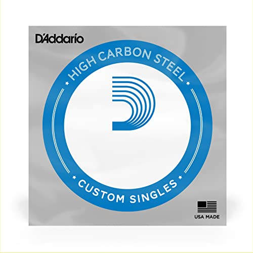 D'Addario PL012 0.012 Plain Steel Single String for Guitar from D'Addario