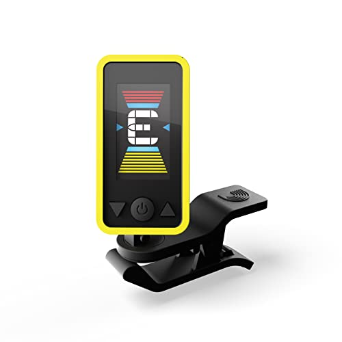D'Addario PW-CT-17YL Eclipse Tuner - Yellow from D'Addario