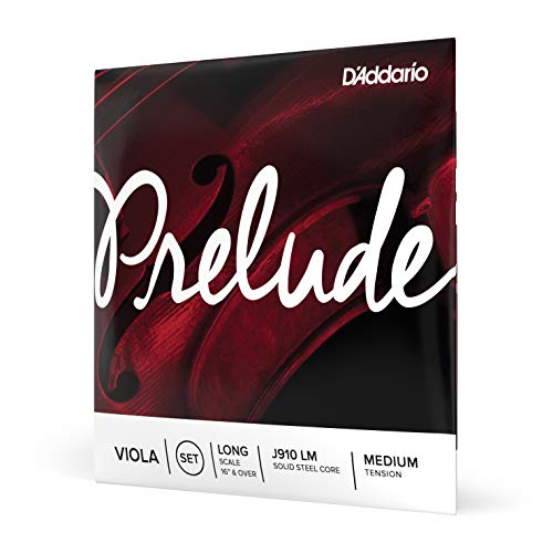 D'Addario Prelude Long Scale Medium Tension Viola String Set from D'Addario