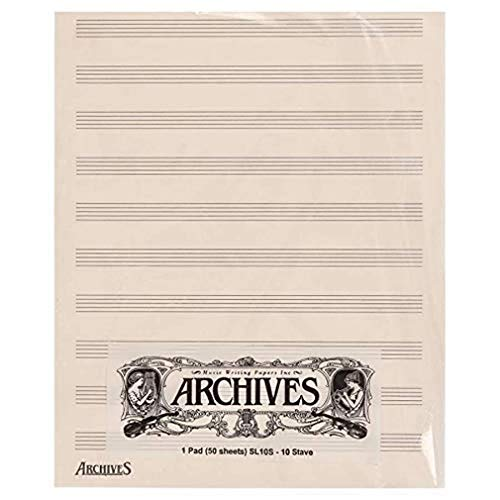 D'Addario SL10S Archives Manuscript Score Pads from D'Addario