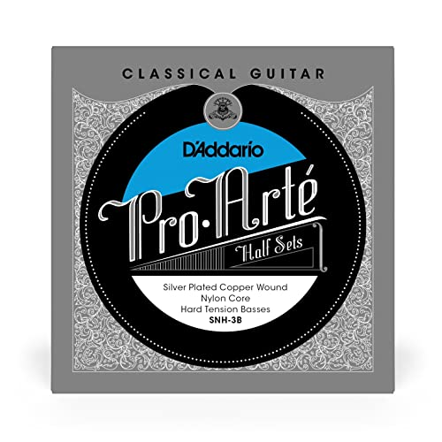 D'Addario SNH-3B Pro-Arte Silver and Copper Plated Bass String Set from D'Addario