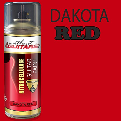 Dakota Red Nitrocellulose Guitar Paint / Lacquer 400ml from Northwest Guitars